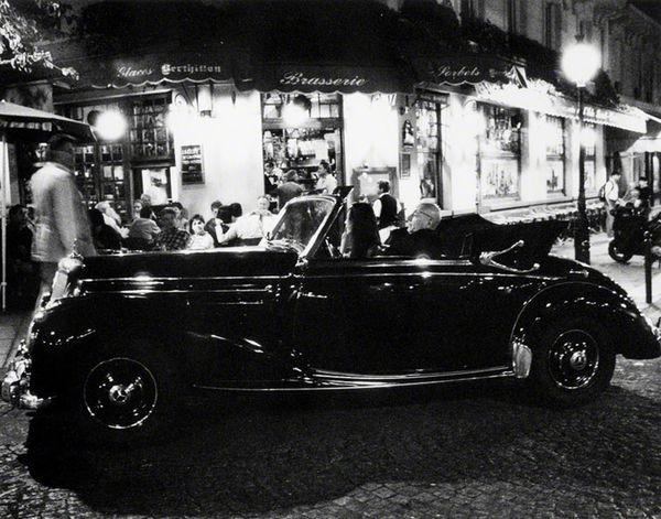 Car Film Noir Ile Saint Louis Mercedes-Benz Night Photography Paris Paris, France  People