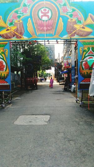 A Welcome Gate Of Durga Puja Festival