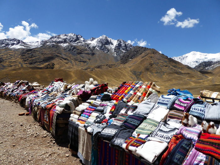 Souvenirs in andes
