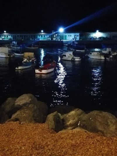 Night Illuminated No People Water Outdoors Sky Ships⚓️⛵️🚢 Boats⛵️ Botes Port Porto Ships Vacations Beach Holiday Water Reflections Water Sea Sea And Sky Relaxing Moments The Week On EyeEm