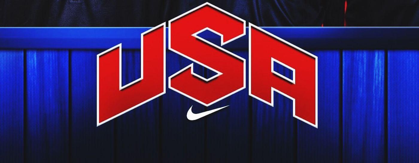 Portrait Of America TeamUSA Basket-ball USA Teamusa Basketball