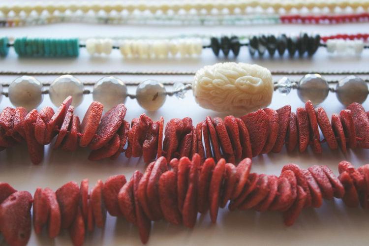 Close-up of jewelry