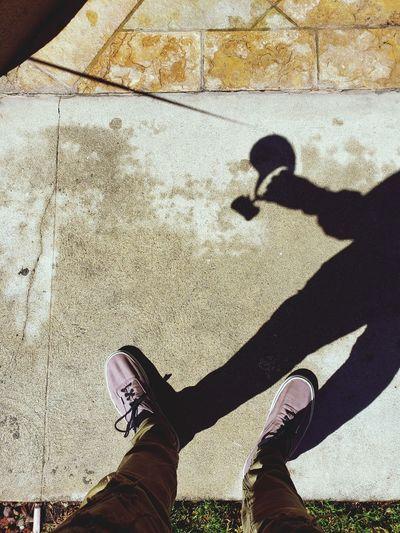 Shadow walking