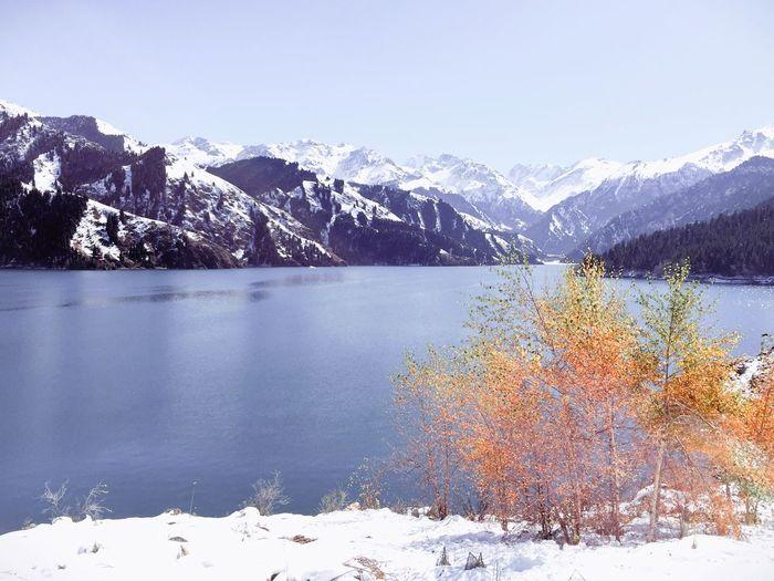 Season  Snow Winter Beauty In Nature Nature Beautiful Traveling EyeEm Weathera:a]