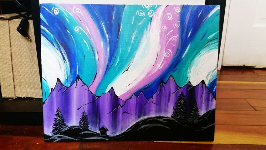 Acrylic Painting Feeling Artsy By Me