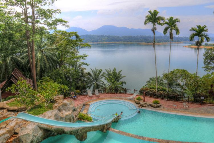 Kenyir Kenyir Lake Kenyir Lake Resort Peaceful Pool Retreat Swimming Pool Tranquil Tropical Tropical Jungle Tropical Paradise