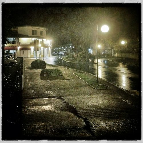Soustons Raindrops Night Photography