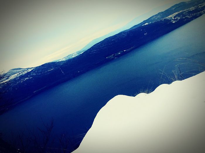 Chill Horizon Over Water Lac Du Bourget