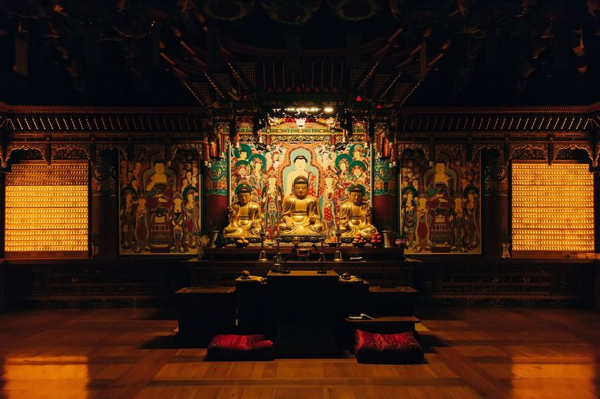 Quiet Moments Indoors  Religion Spirituality Place Of Worship Temple Temple - Building Light Candle Candlelight Buddha Buddhism Buddhist Temple