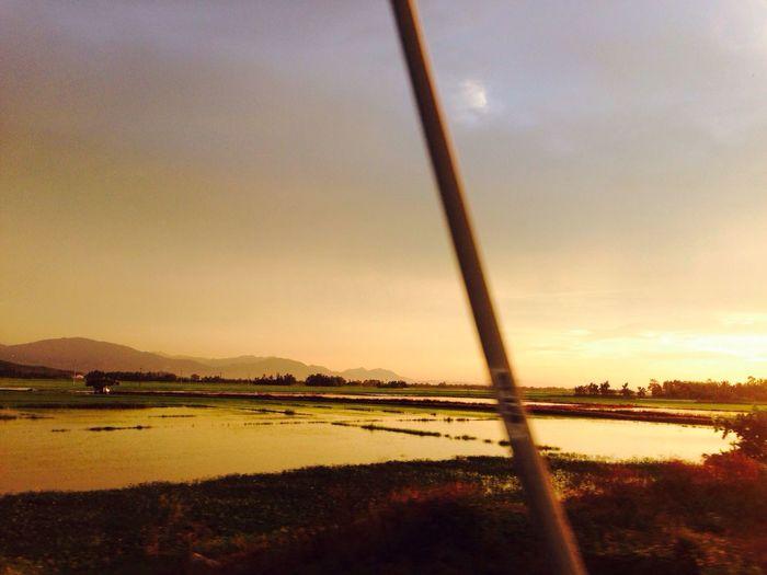 Sommergefühle Summertime Vietnamese Sunset Myvillage Comebackhome #Summer Feeling