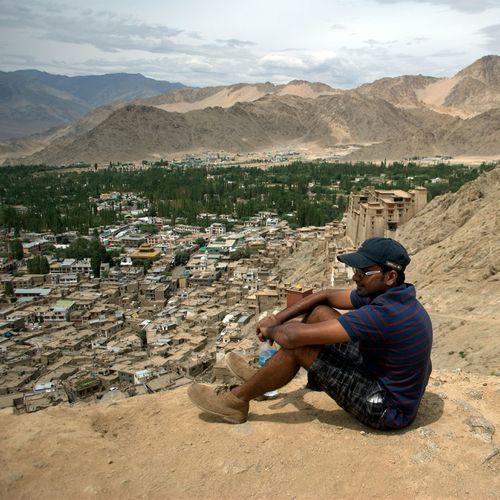 Mountain View Himalayan Range Ladak Dream Destination