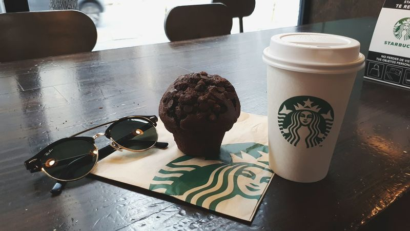 The Street Photographer - 2017 EyeEm Awards Chocolateaddict Starbucks Coffee Capuccino Muffins