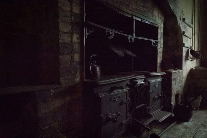 Architecture Indoors  Light And Shadow No People Old Kitchen Old Metal Old Oven Old-fashioned