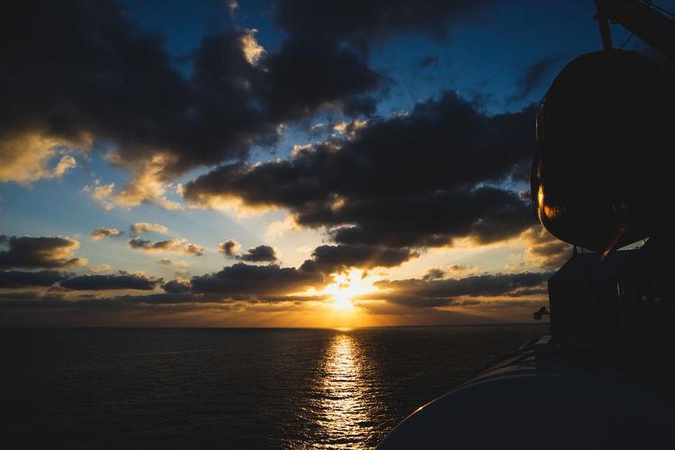 Silhouette Sunrise #2 Wide Angle View Persian Gulf Summer Ocean Photography Dramatic Sky Water Sea Sunset Nautical Vessel Silhouette Sun Sunlight Journey Sky Horizon Over Water UnderSea Sea Life Underwater Dramatic Sky Sea Anemone Red Sea Reef Calm Countryside Seascape