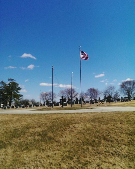 Flags Landscape BrightDay Hello World Cementery Cementerio Paisaje Diaradiante Memory American Flag