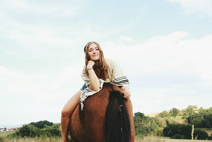 Riding Girl Riding Girl Cowgirl Indian Summer Icelandic Horse Horseshooting Horseriding Photoshoot Horse Riding Portrait Of A Woman Ridingwoman Shooting Horse Photography  Young Adult