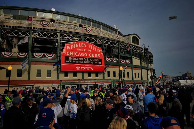 4 hours before first pitch! Chicago Cubs  Baseball Flythew
