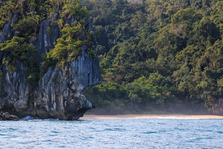 Scenic View Of Palawan Beach