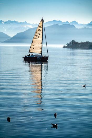 Segelschiff auf