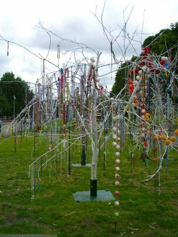 Lourdes Trees Insolite Objects