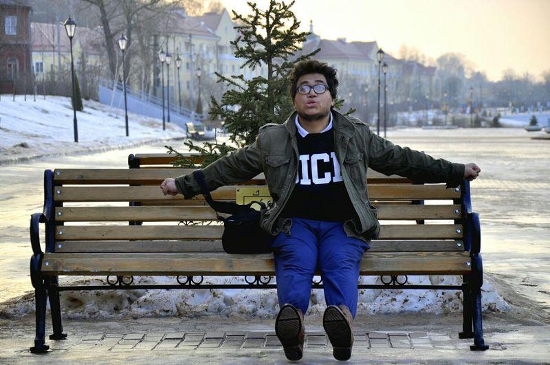 Веселая Зима. February Hanging Out Taking Photos Hello World SmolenskLive Smolensk Russia Eye4photography  Sewangringzen