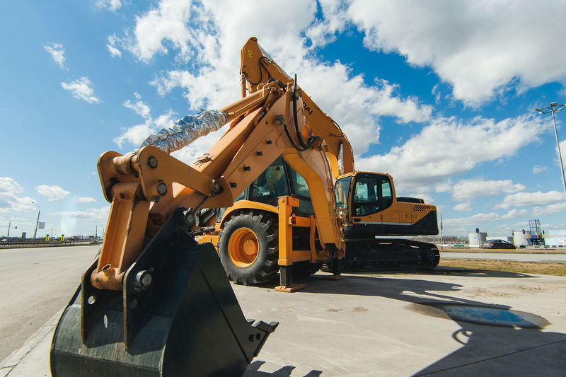 Bulldozer Cloud - Sky Construction Equipment Construction Industry Construction Machinery Construction Site Day Development Earth Mover Industry Land Vehicle Machinery Mode Of Transportation Motor Vehicle Nature No People Outdoors Road Sky Sunlight Transportation