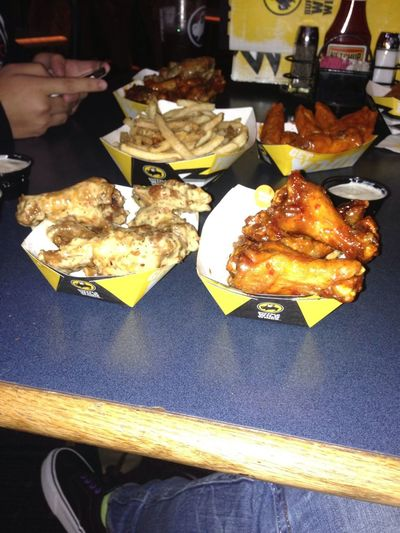 Wings After A Work Out ;)