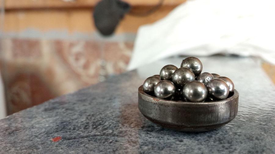 Rodamientos Acero Balls Silver Colored Metal Industry Metalwork