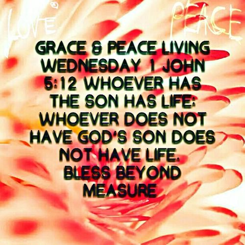 Grace & Peace Living Wednesday
