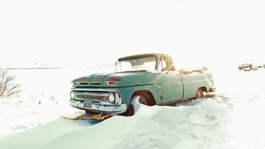 Abandoned C10 NoDak North Dakota Snow C10 Chevy Chevrolet Car Transportation Mode Of Transport Retro Styled Old-fashioned Abandoned EyeEmNewHere Land Vehicle 4x4 Outdoors