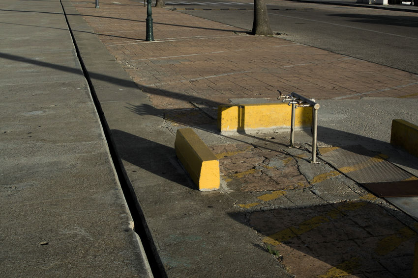No People Day Street Outdoors City Shadow Paint The Town Yellow