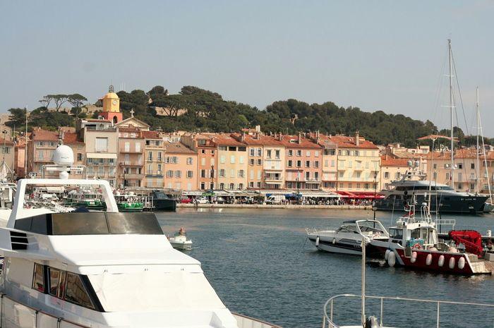Sainttropez Port Boats France