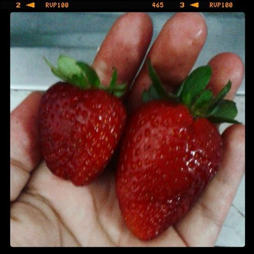 Strawberry , Delicious , Grandmaa , Loveeee , GoodDay