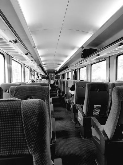 Vehicle Seat Subway Train Seat Vehicle Interior Train Interior Train - Vehicle Rail Transportation EyeEmNewHere