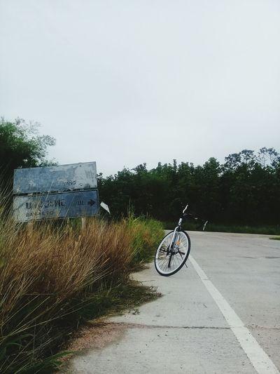#ขาวเงิน #sky #bicycle
