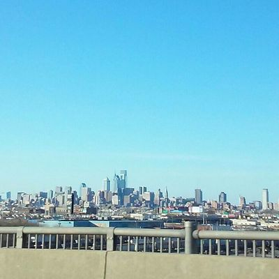 Showcase March Awesome_view Photos By Jeanette Taking Photos PhiladelphiaCityscapes City City View  Buildings Tall Buildings City Skyline Over Looking The City From The Car Window From The Bridge Hello World City Landscape Citybestpics Learn & Shoot: Balancing Elements Blue Wave The Architect- 2016 Eyeem Awards