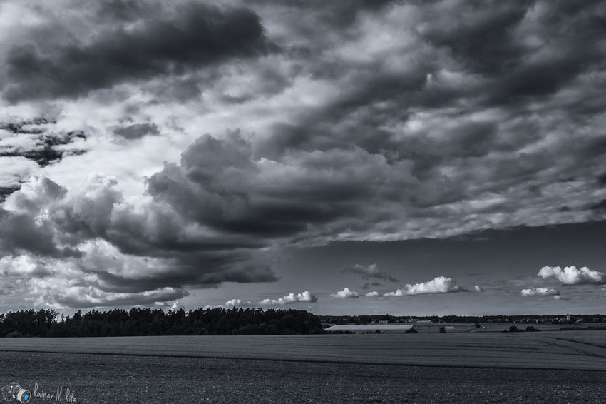The wave clouds Taking Photos Landscape Sky And Clouds Monochrome_Monday B&w Nature