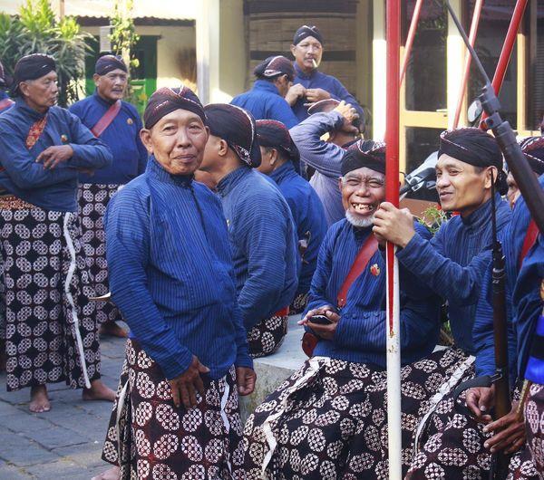 The smile of the yogyakarta palace warrior - 01 januari 2020