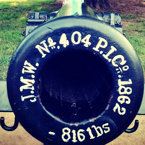 Staringdownthebarrel Cannon BOOM! Civil War Chickamaga Battlefield Fort Ogelthorpe Georgia Northvssouth