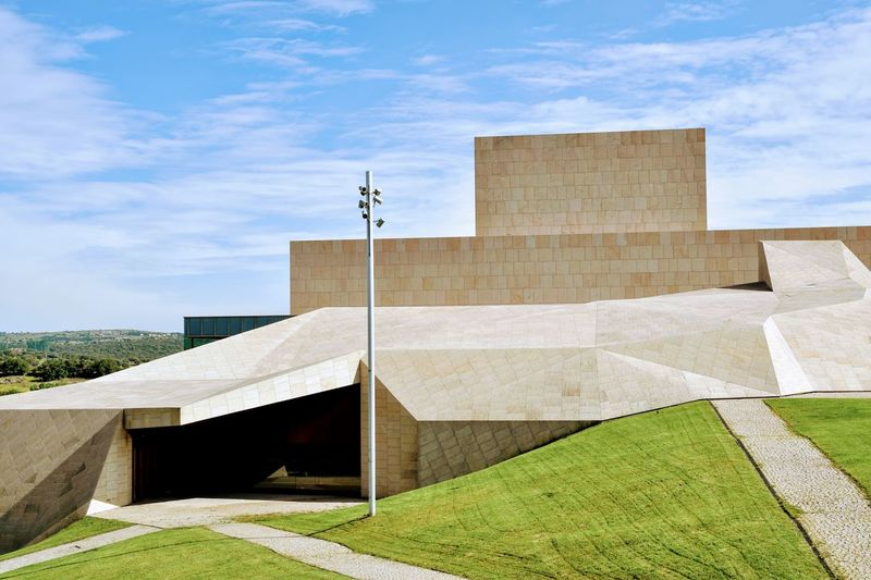 Palacio de Congresos Ancient Civilization History Archival Architecture Sky Built Structure Building Exterior