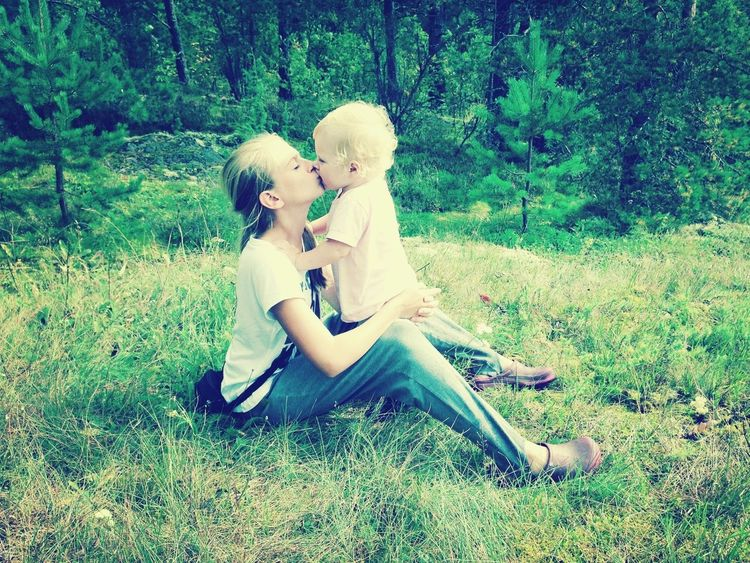 I with my sister Veronika