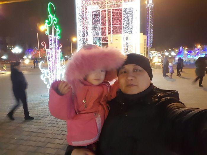 Дочка и я