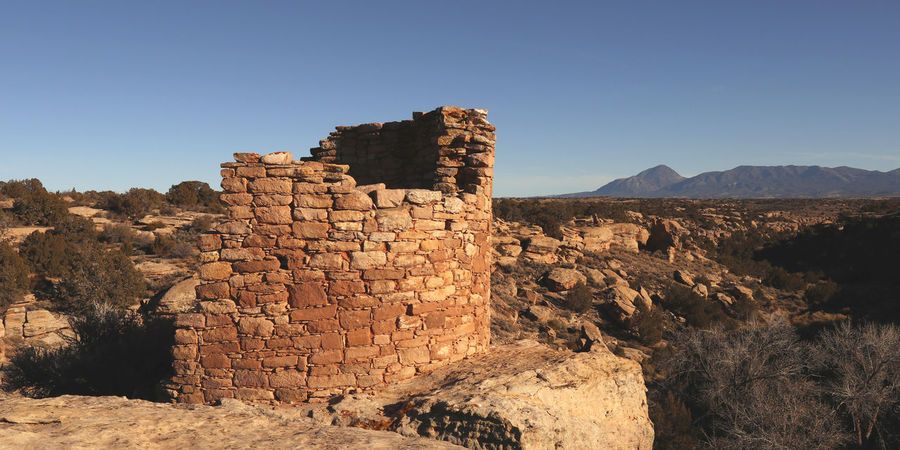 Hovenweep National Monument Ruins Ancient Desert Hovenweep Landscape Native American Outdoors Scenics