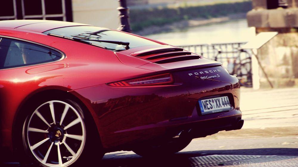 Porsche Porsche 911 Cars Autoportrait Sportcar Red Speed Porsche911 High Speed EEA3 - Dresden