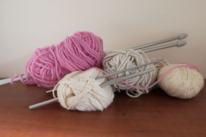 Whool Still Life Ball Of Wool Indoors  No People Close-up Knitting Knitting Needle Leisure Activity Art And Craft