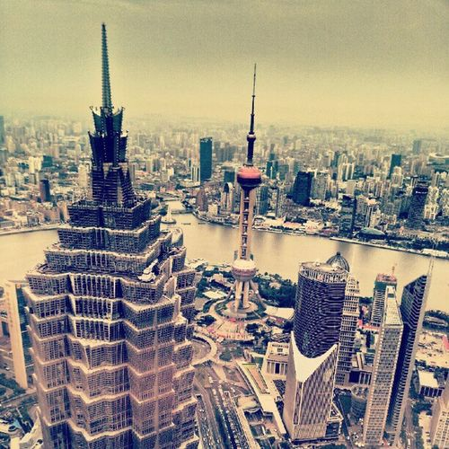 High Shanghai 91st floor Bund pearl tower