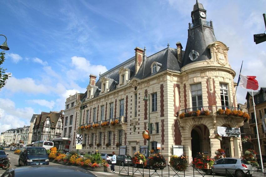 Trouville Trouville, Deauville City Landscape Cityhall Cityhalls Hoteldeville Hôtel De Ville Mairie Architecture Architecture_collection Being A Tourist Taking Photos