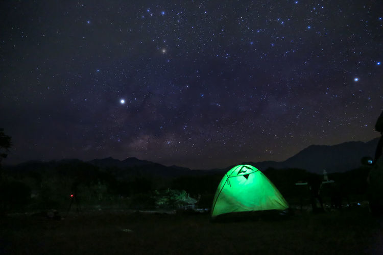 milky way Milky Way Galaxy Night Sky Tent Star - Space Camping Space Beauty In Nature Astronomy Scenics - Nature Nature Environment Mountain No People Green Color Field Star Land Galaxy Landscape Tranquility Outdoors