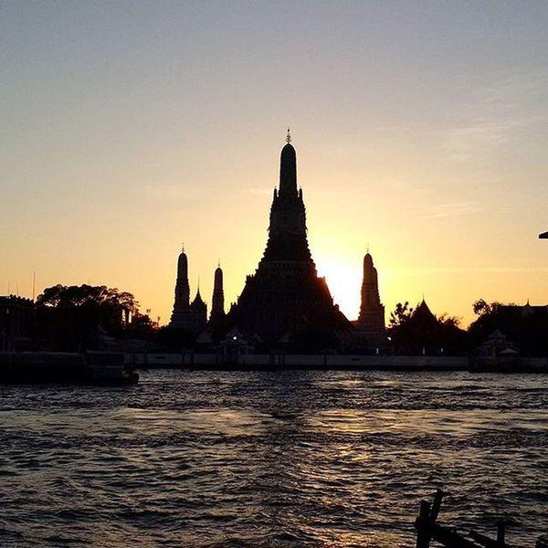 See you again.... :) Watarun Bangkok Thailand Evening View Riverside Romantic