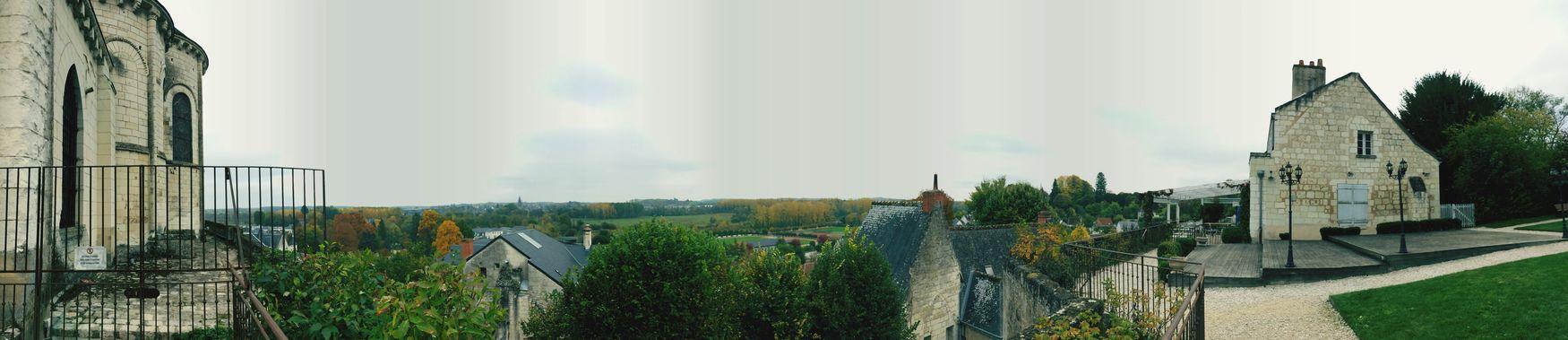 Hauteur de la ville de Loches Ville Sky Panorama Panoramic Tree History Citémedievale